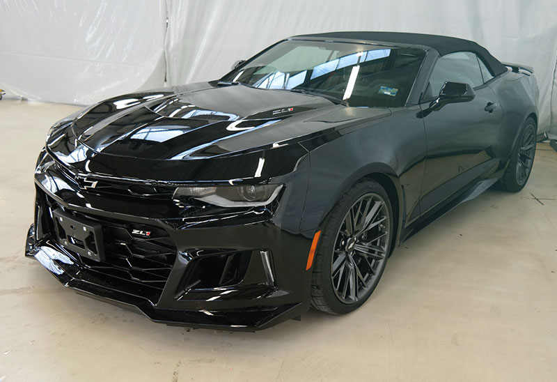 2017 chevrolet camaro zl1 white import sports car