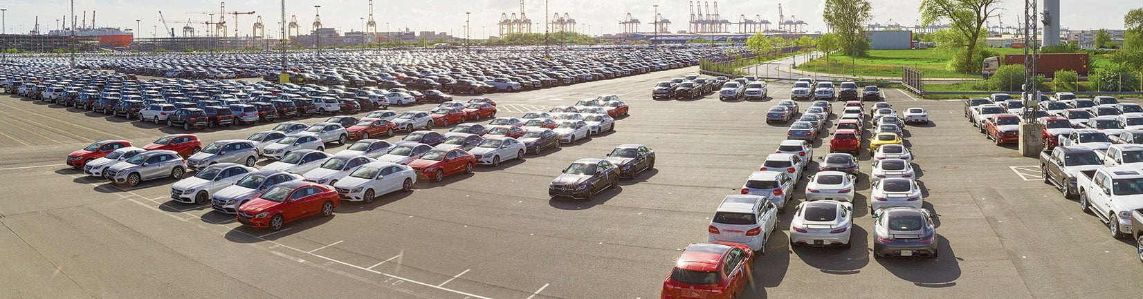 stock of imported cars of all brands