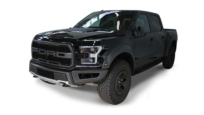 Ford F150 Lobo Raptor Technology Black