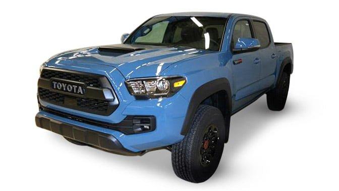Toyota Tacoma TRD Pro blue
