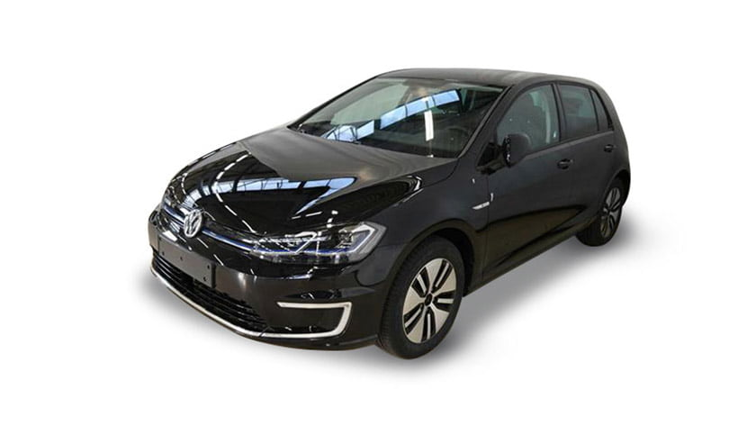 Volkswagen E Golf deep black electric