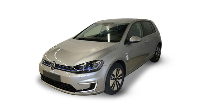 Volkswagen E Golf tungsten silver electric