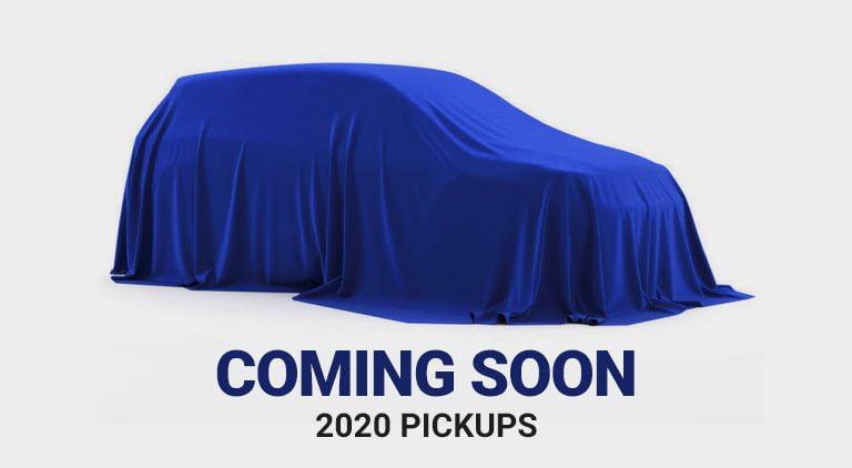 MY 2020 Pickups